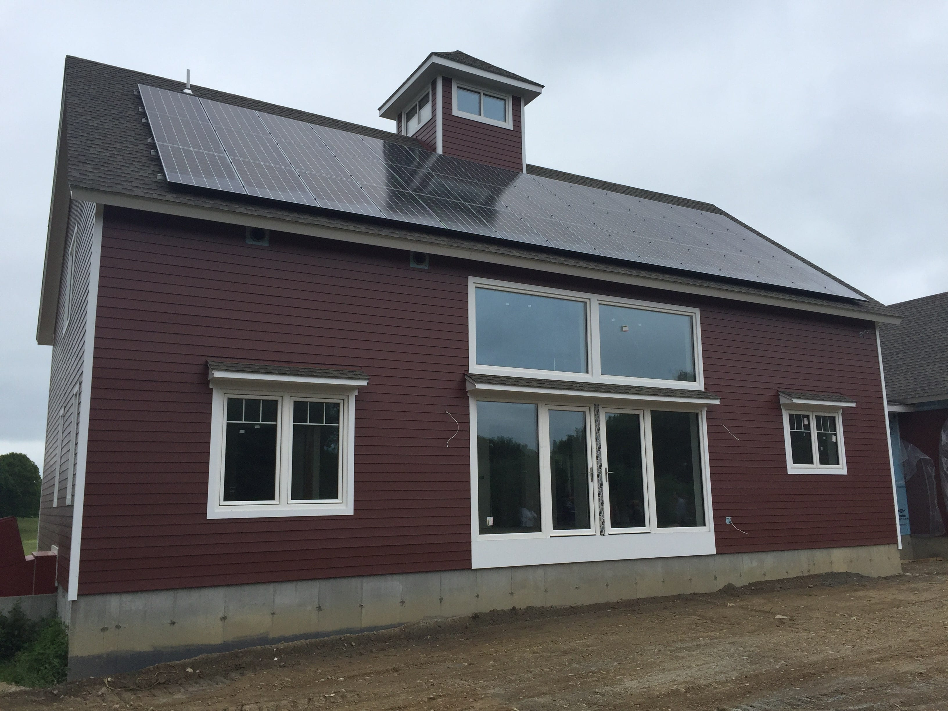 Passive House with Solar